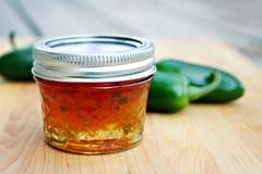 Gelatina del pepe di Jalepeno fotografia stock