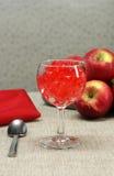 Gelatina della ciliegia Immagini Stock Libere da Diritti
