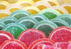 Gelatina della gelatina della caramella della marmellata d'arance dei dolci Fotografia Stock