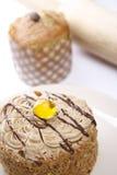 Gelatina della torta Fotografie Stock