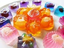 Gelatina di frutta Immagine Stock Libera da Diritti