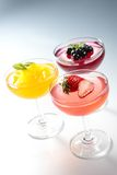 Gelatina di frutta Fotografia Stock