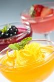 Gelatina di frutta immagine stock