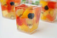 Gelatina di frutta di estate Fotografie Stock