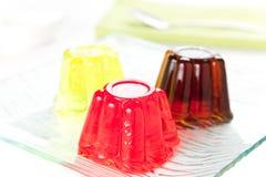 Gelatina dulce del friuit Fotos de archivo libres de regalías