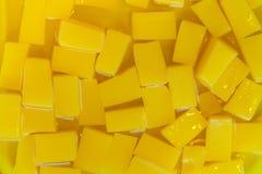 Gelatina gialla Fotografia Stock Libera da Diritti