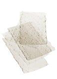 Gelatineblätter Stockfoto