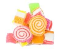 Gelatinizzi il dolce, la frutta di sapore, dessert della caramella variopinto Immagini Stock