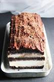 Gelato del cioccolato Fotografia Stock