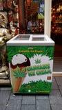 Gelato della cannabis Immagine Stock Libera da Diritti
