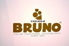 Gelato Di Bruno Logo Stock Photo