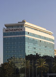Gelato di Moevenpick dell'emblema Immagine Stock