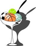 Gelato di sport illustrazione di stock