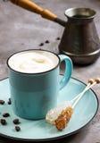 Gelato e del caffè Fotografia Stock Libera da Diritti