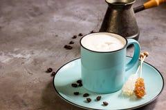 Gelato e del caffè Fotografia Stock