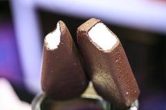 Gelato falso del cioccolato Fotografia Stock