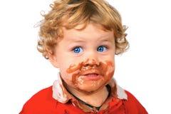 Gelato Yummy! Fotografie Stock