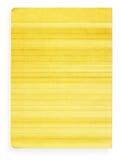Gelb befleckte gezeichnetes Papier Stockbilder