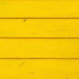 Gelb farbige hölzerne Bretter Vibrant Farbe Beschaffenheit Stockbild