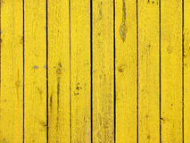Gelb farbiger alter hölzerner Plankenbeschaffenheitshintergrund stockbild