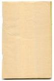 Gelb gefärbte Seiten des antiken Buches Lizenzfreies Stockbild
