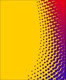 Gelb-roter Halbtonhintergrund Lizenzfreies Stockfoto