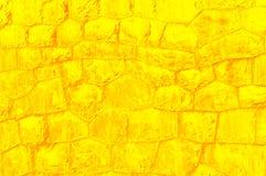 Gelb stonewall Lizenzfreies Stockbild