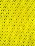 Gelb trägt Trikot zur Schau Stockfotos