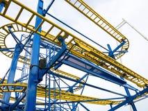 Gelb und Blau Lizenzfreie Stockfotografie