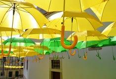 Gelb und Grün Lizenzfreies Stockbild