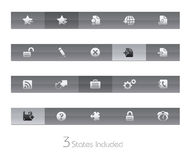 gelbar互联网加上系列选址万维网 库存照片