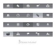 gelbar互联网系列选址万维网 库存照片