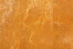 Gelbe alte Wandbeschaffenheit Stockbilder