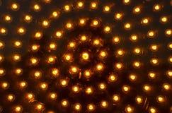 Gelbe Ampel Stockbild