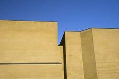 Gelbe Architektur Lizenzfreie Stockbilder