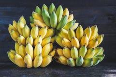 Gelbe Bananen Stockfoto