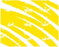 Gelbe Beige der abstrakten Handgezogenen Hintergrund-Bürste für Druckplakatfahnendarstellungs-Katalogzeitschriften lizenzfreie abbildung