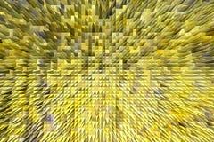 Gelbe Beschaffenheit mit kopierter scharfer Abstraktion Lizenzfreie Stockbilder