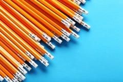 Gelbe Bleistifte Stockbilder