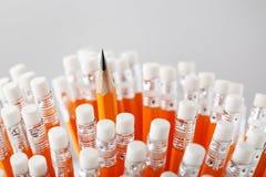 Gelbe Bleistifte Lizenzfreie Stockbilder