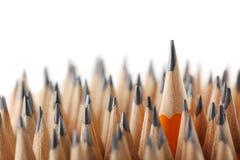 Gelbe Bleistifte Lizenzfreie Stockfotos