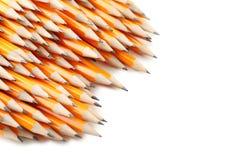 Gelbe Bleistifte Stockfotos