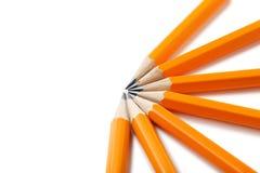 Gelbe Bleistifte Stockbild
