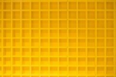 Gelbe Block-Regale Lizenzfreie Stockfotografie