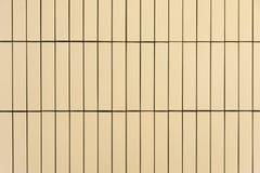 Gelbe Block-Wand Lizenzfreies Stockbild