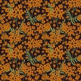 Gelbe Blumen, Basisrecheneinheit, Inneres mit Tropfen Lizenzfreie Stockfotos