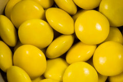 Gelbe Bonbons Stockbilder