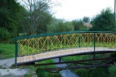 Gelbe Brücke Stockfotos