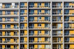 Gelbe Ebenen des Blockes Stockfotos