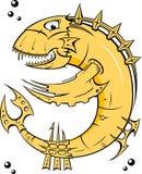 Gelbe Eisenfische stock abbildung